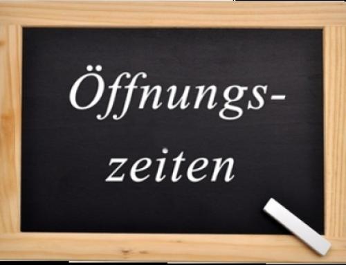 Öffnungszeiten Tauchschule/Tauchshop