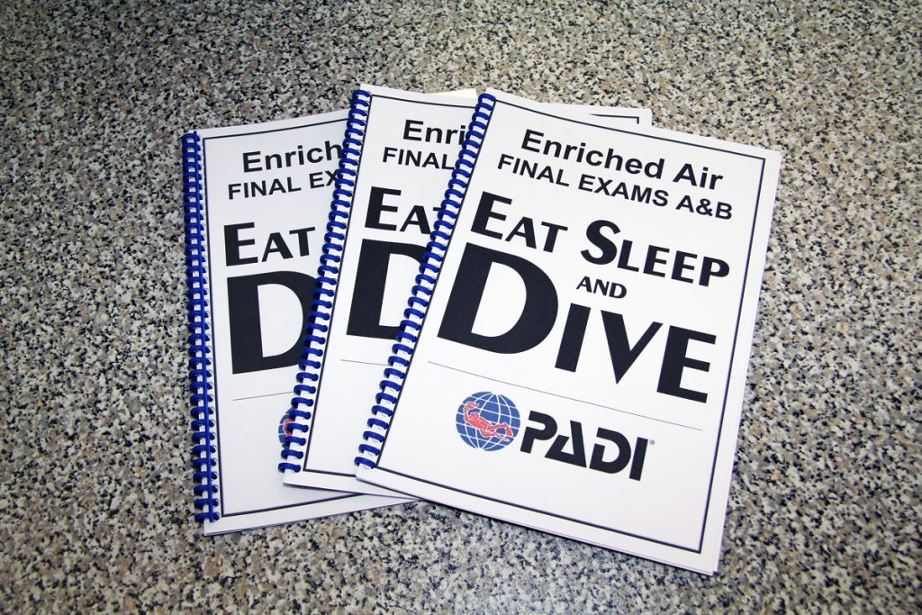 Eat Sleep and Dive – Schulungsmaterial