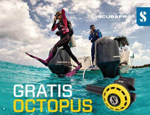 Gratis Octopus Promo Scubapro